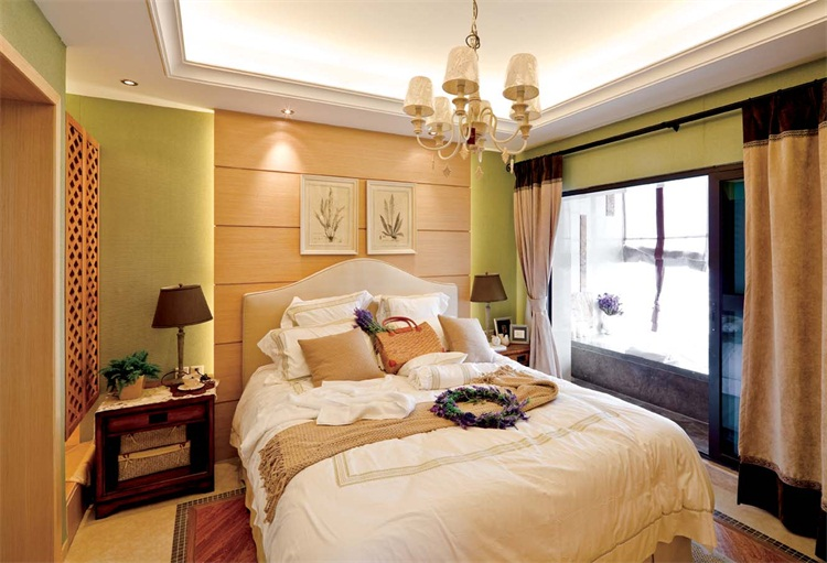 高品质的卧室装修就在甘肃地平线装饰,白银卧室装修网