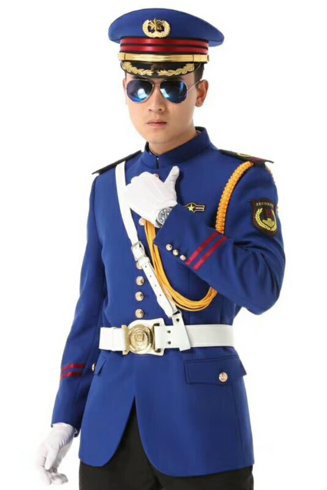 宁夏保安服订做-想买优质的保安服就到宁夏意诺布朗服饰