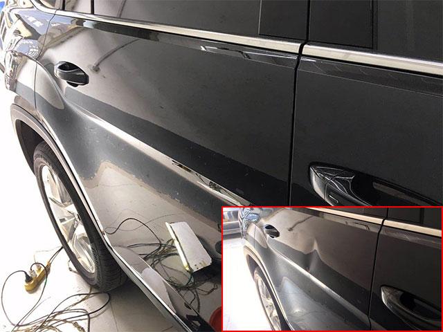 济南哪里有口碑好的汽车凹陷修复——济南汽车凹陷修复