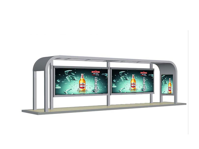 创新的公交候车亭|哪里有做公交候车亭
