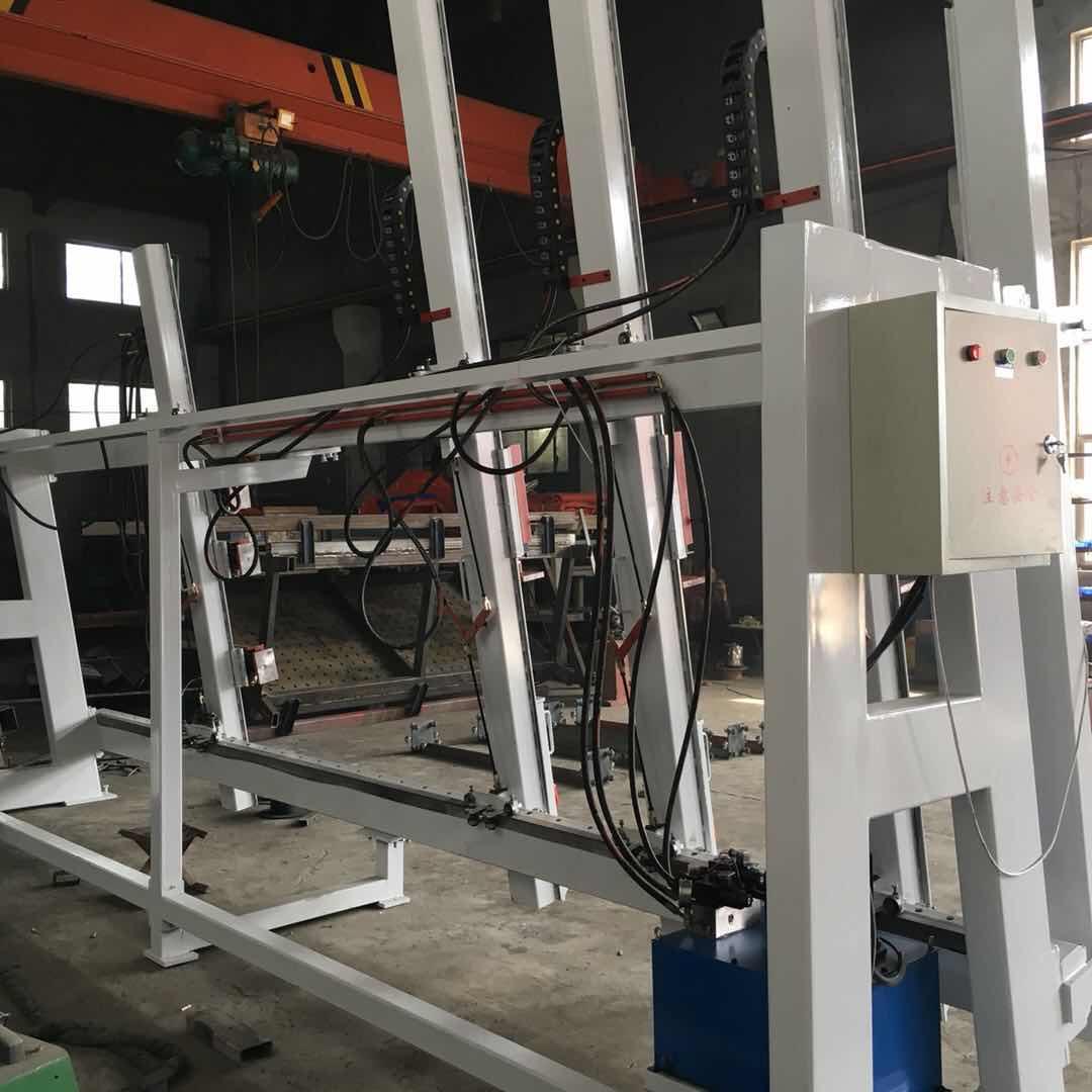 林泽通机械直销铝木窗框组合机-门窗组框机