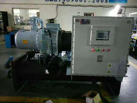 內蒙螺桿式冷凍機-沈陽防爆冷水機選遼寧海安鑫機械設備公司-價格優惠