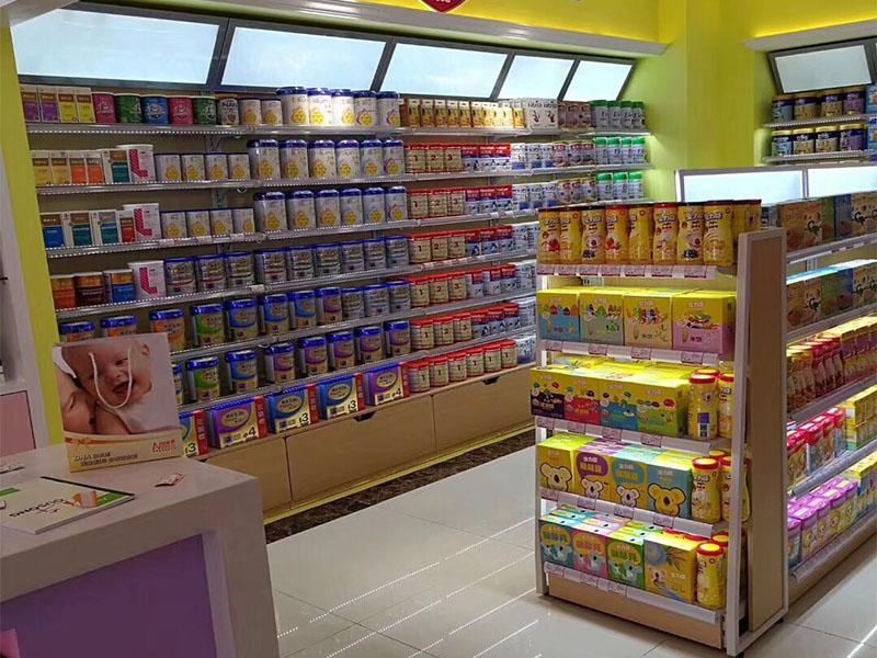 广东优质的进口食品店货架——进口食品店货架加工精度