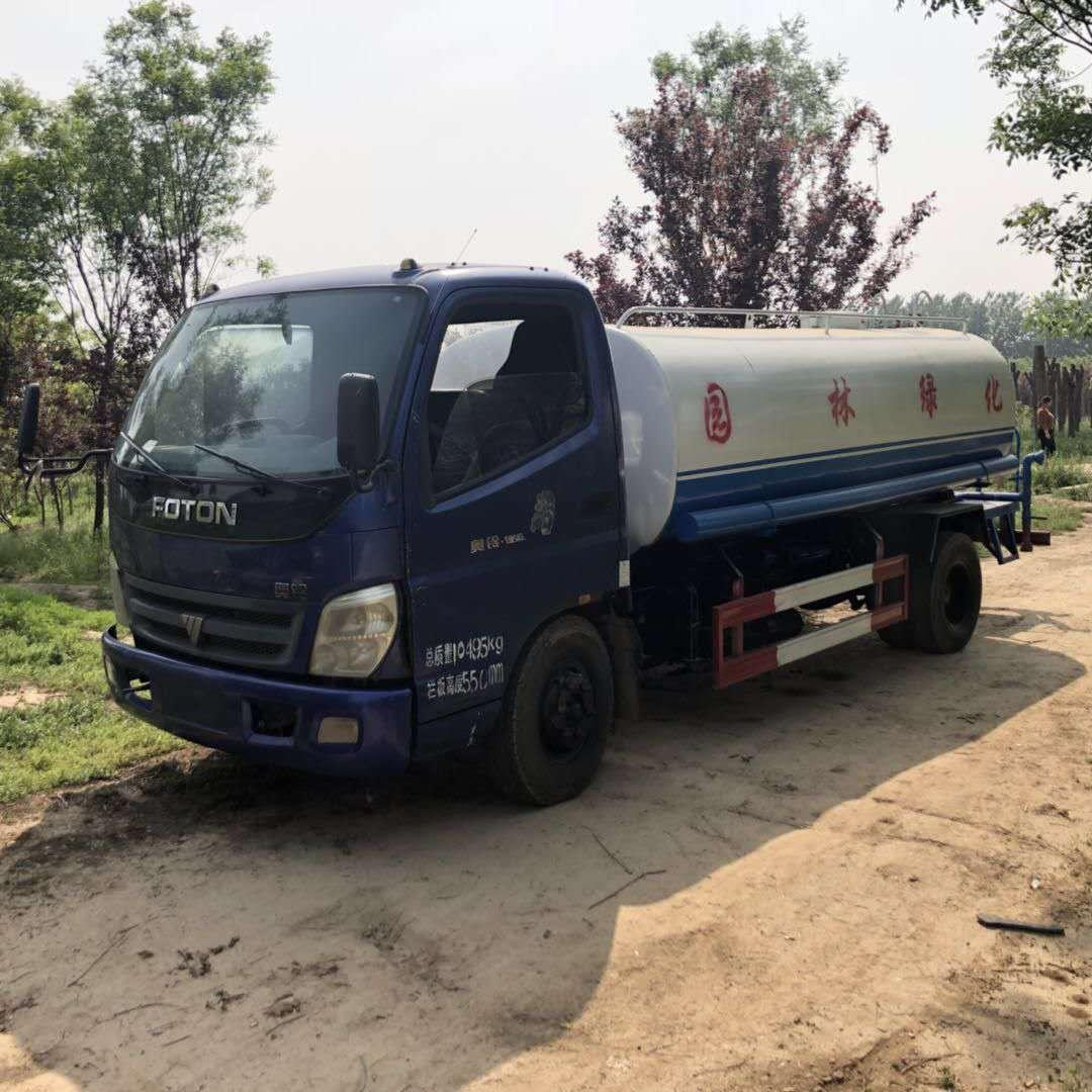 梁山强达环卫设备供应的二手洒水车要怎么买――二手12吨江淮洒水