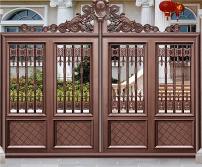 寿光铝艺大门-高质量的铝艺大门哪里有卖