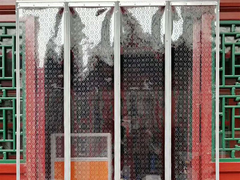 回龙观磁性门帘免费测量安装|想买价格实惠的磁性门帘就到北京天成顺通