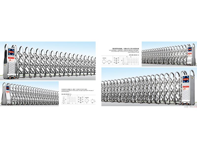 安徽不锈钢电动伸缩门安装_性价比高的不锈钢电动伸缩门火热供应中