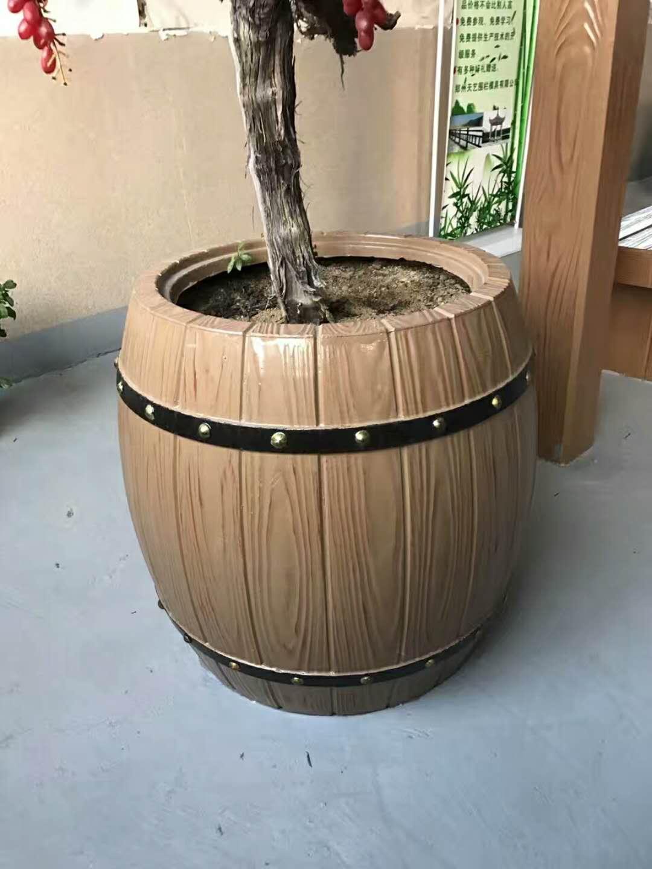 内销仿木花桶-想做仿木花桶就到肖氏景观工程