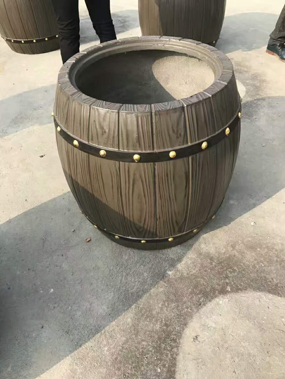 价位合理的仿木花桶 仿木花桶可靠供应商_肖氏景观工程