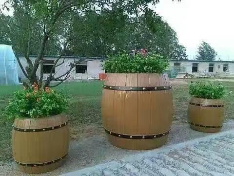 专业雕刻仿木花桶-仿木花桶找哪家制作的好