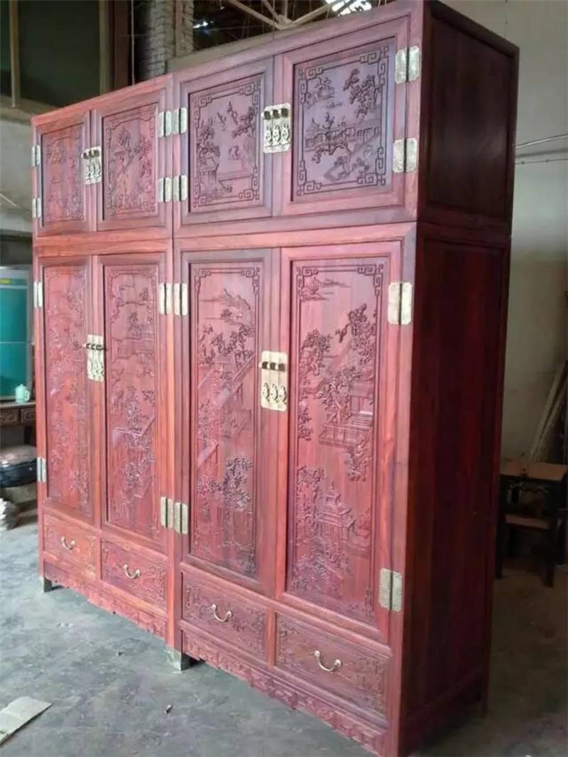 性价比高的红木衣柜多少钱-广东知名尚方圆家具制造厂介绍