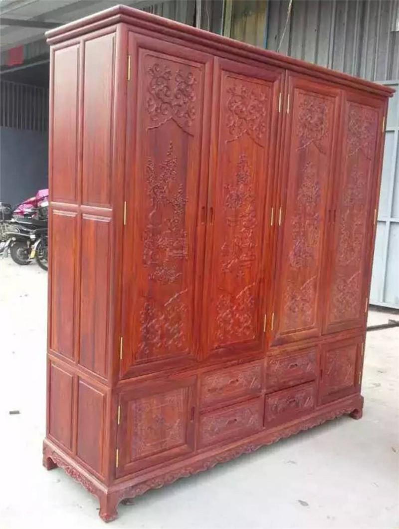 提供红木衣柜多少钱 佛山哪有专业的尚方圆家具制造厂项目