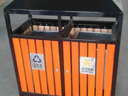 重庆钢木垃圾桶