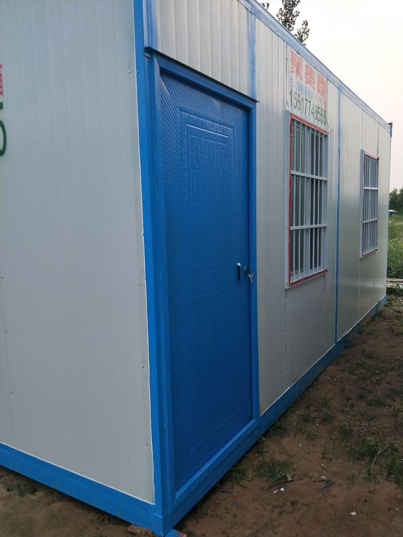 郑州网架房_郑州聚美鑫钢结构提供质量硬的集装箱