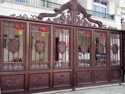 安鄉鋁藝大門-實惠的鋁藝大門火熱供應中