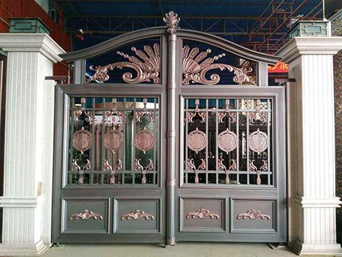 安乡铝艺大门-湖南哪里有供应价格合理的铝艺大门