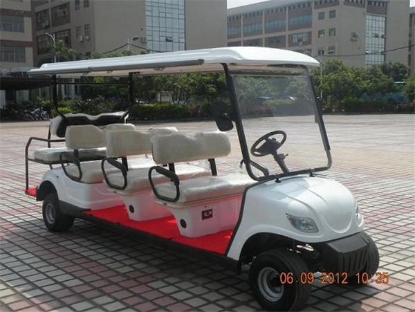 厂家批发电动游览车 买好的8座位电动游览观光车当然是到高尔电动