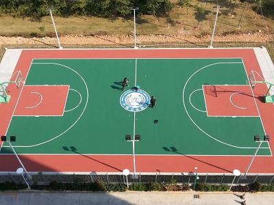 泓冠达体育设施价格划算的惠州丙烯酸球场供应|佛山丙烯酸场地施工