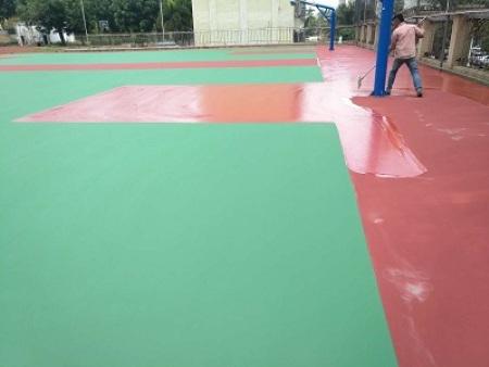 泓冠达体育设施实惠的惠州丙烯酸球场批发,中山丙烯酸篮球场施工