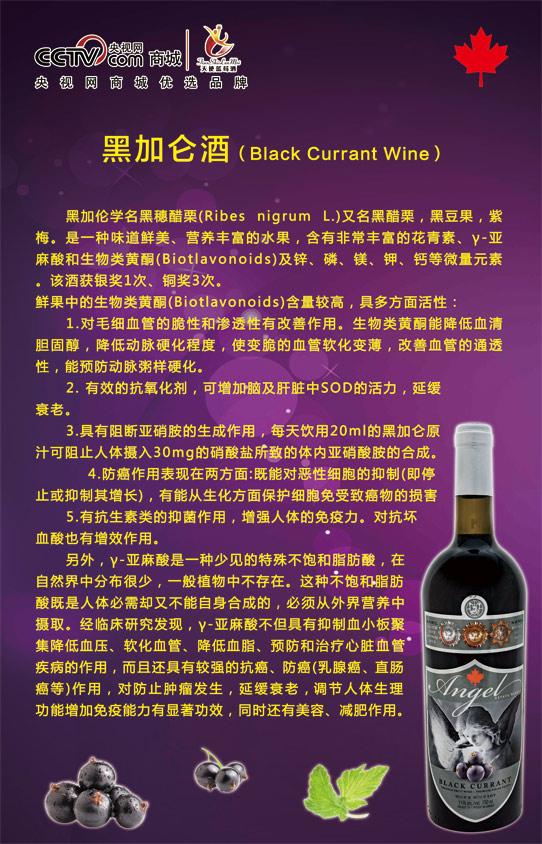 价格合理的加拿大天使黑加仑酒原灌原装供应-蓝莓黑加仑厂家