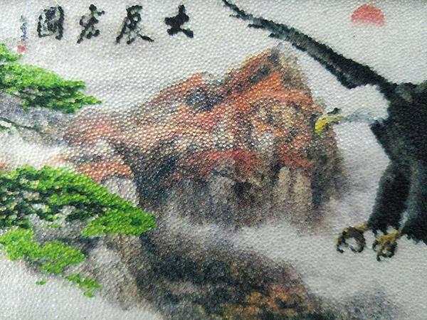 水晶珠背景墙