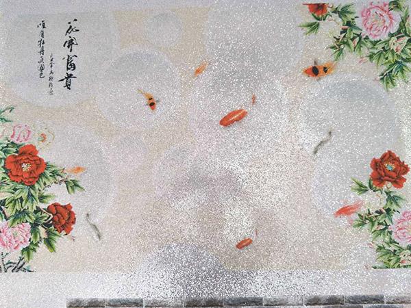 闪光珠片壁画价格_广东优良的闪光珠片壁画供应