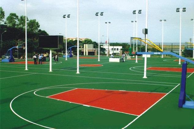 上海建篮球场公司,什么样的篮球场塑胶地板价格实惠