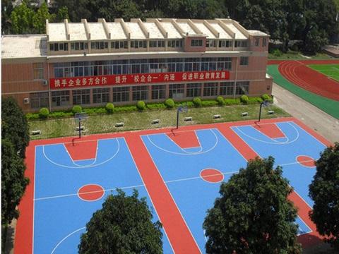 篮球场塑胶施工公司_价位合理的篮球场塑胶地板在哪有卖