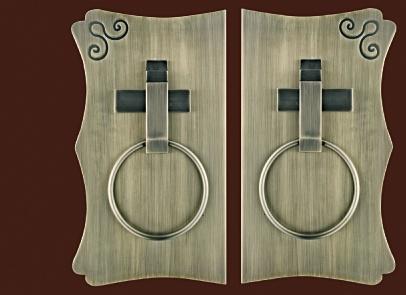 实木拉手LOGO定制_大量供应价格划算的大门铝板拉手