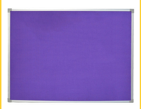 大鋁邊紫色布面告示板定制-有品質的告示板推薦