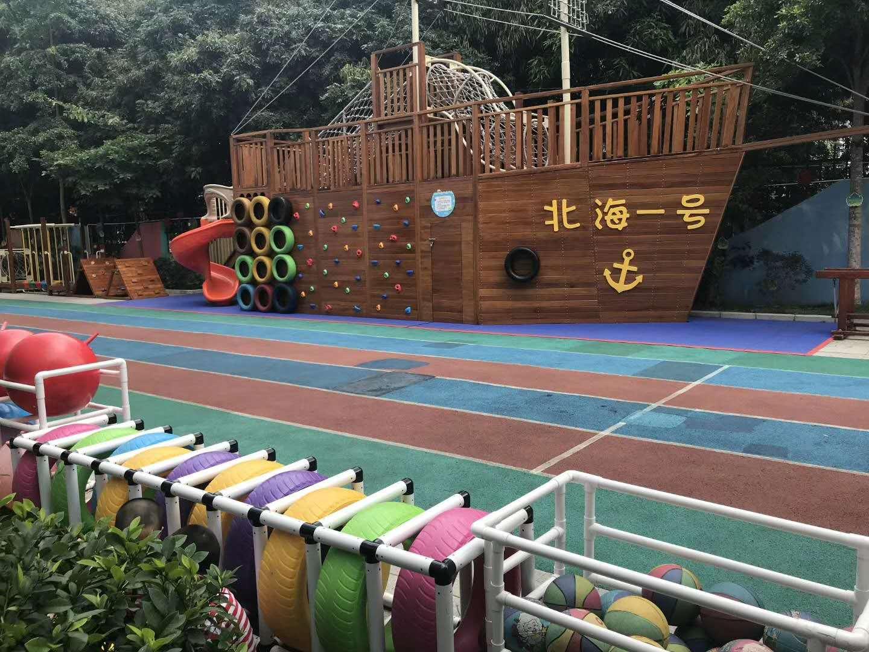 广西规模大的南宁木质滑梯厂家 贵港组合滑梯批发厂家