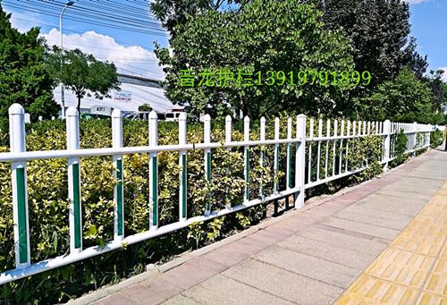 兰州锌钢草坪护栏-质优价低的草坪围栏晋龙厂家定制