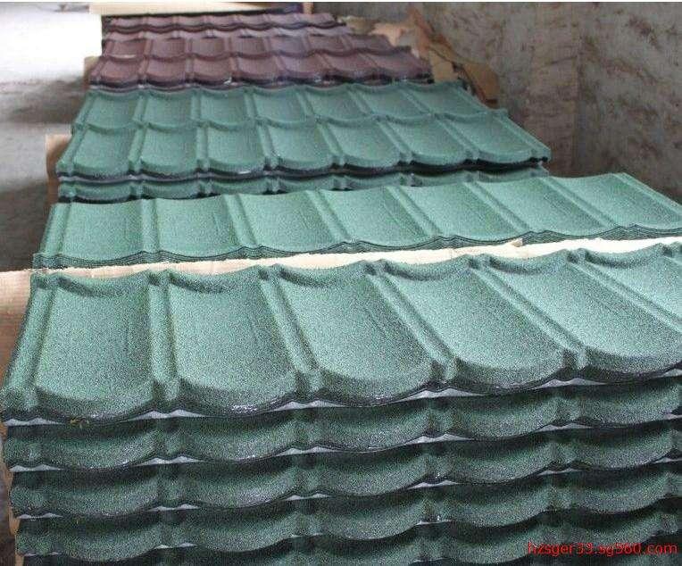 想要呼伦贝尔金属彩石瓦就到呼伦贝尔市冀海发彩钢钢构-海拉尔金属彩石瓦厂家