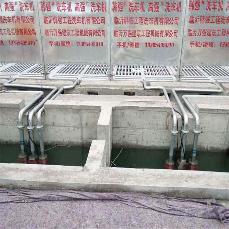 便捷的工地洗车机,供应临沂销量好的出售韩强工程洗轮机设备