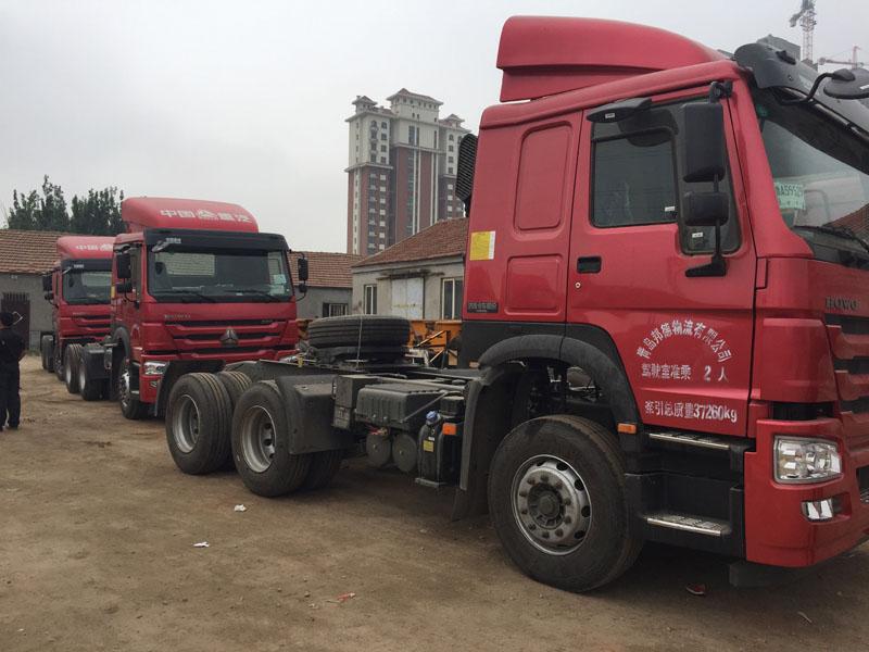 黄岛集装箱陆运-可靠的集装箱物流车队哪里有
