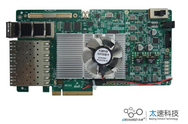 基于KintexUltrasacle的PCIe加速卡