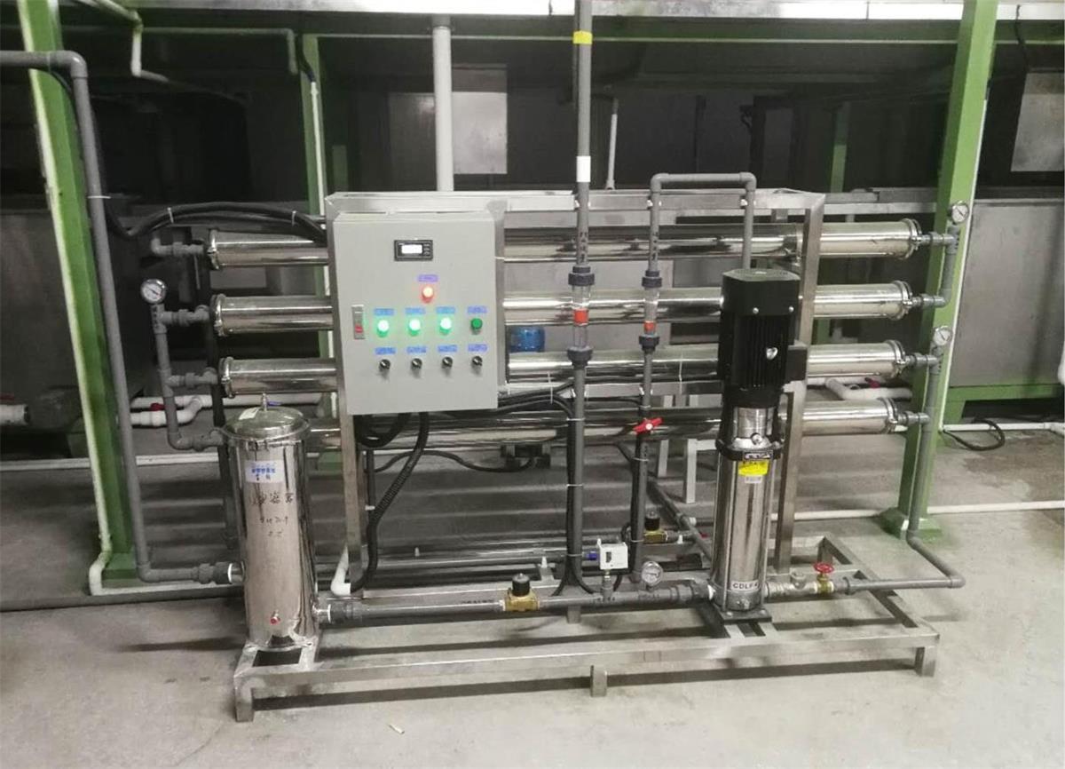 半自動控制反滲透水處理設備 定制請聯系18665161107