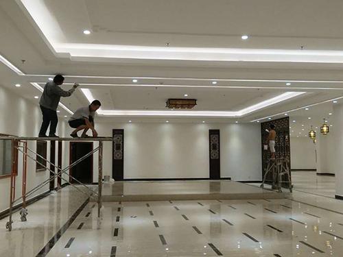 莞城办公室装修设计-办公室装修当选曾金建筑装饰