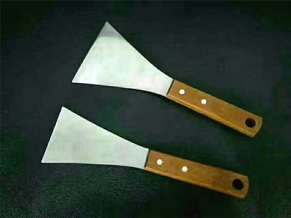 湖北不锈钢油灰刀厂家-信誉好的木柄双夹油灰刀供应商-临沂裕锦工具