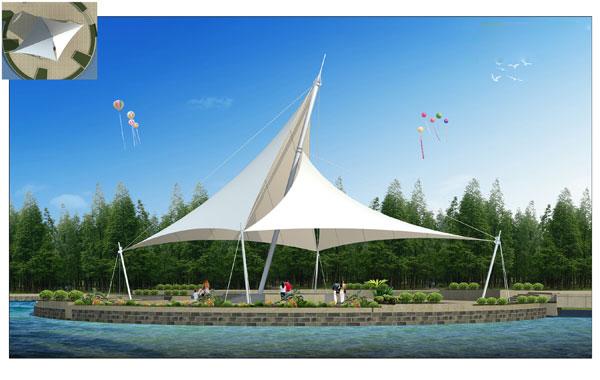新疆景观膜结构供应|景观膜结构