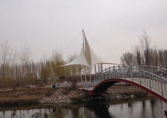 新疆景观膜结构制造专家,哈密景观膜工程