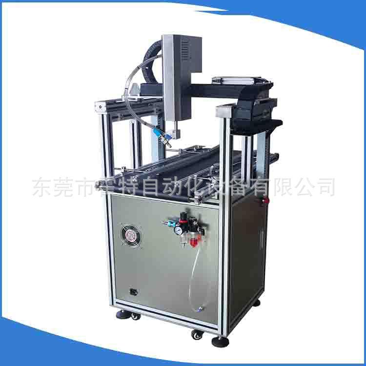 霍特专业生产在线式自动点胶机各种包装纸盒手机盒自动喷胶机
