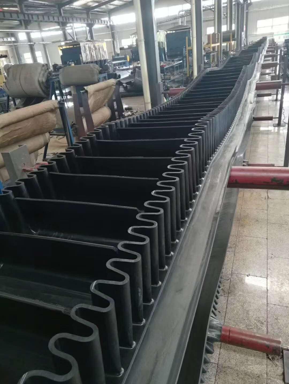 大倾角胶带供货厂家_供应山东实用的钢丝绳大倾角皮带