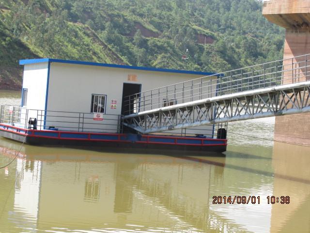 取水泵船|潜水泵|矿山取水泵|新型无土建泵站信赖云南水工科技