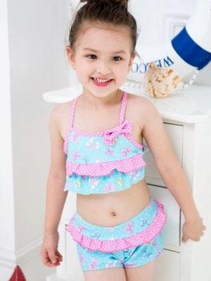 新泳欣服装供应新品女童泳衣-河源女童泳衣