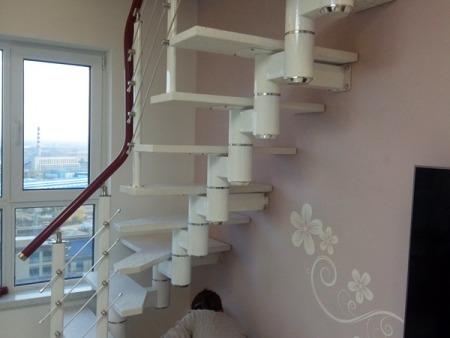 辽宁热卖的别墅楼梯 鸡西别墅楼梯