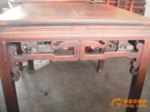 上海回收老红木写字台