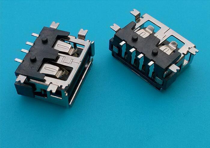 专业的USB连接器厂家-供应东莞划算的USB-AF侧插短体