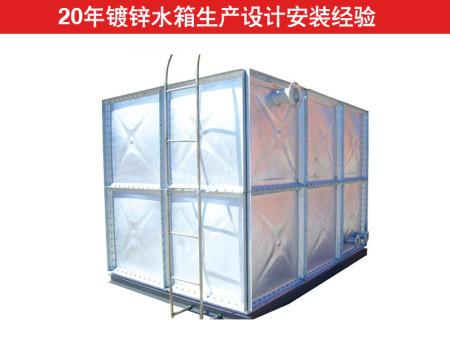德州镀锌水箱价格 德州哪里有卖销量好的镀锌水箱