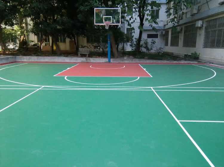 贵阳环保水性硅pu球场材料|广东耐用的水性环保硅pu球场材料推荐